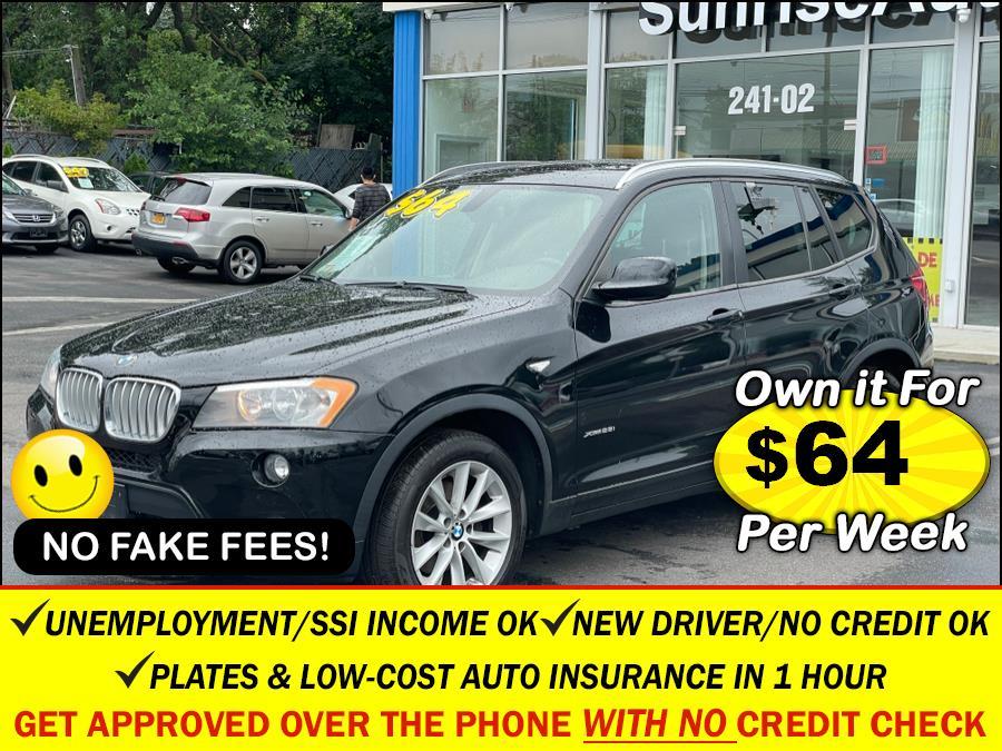 Used BMW X3 AWD 4dr xDrive28i 2013 | Sunrise Auto Sales. Rosedale, New York