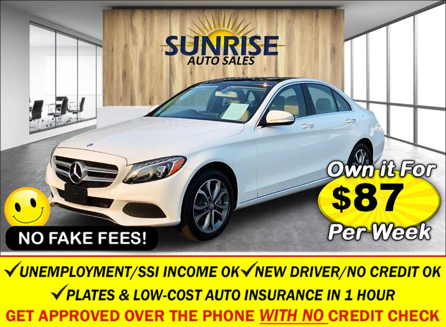 Used 2015 Mercedes-Benz C-Class in Rosedale, New York | Sunrise Auto Sales. Rosedale, New York