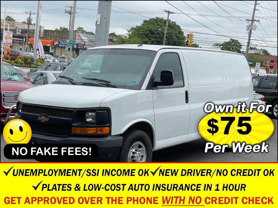 "Used Chevrolet Express Cargo Van RWD 2500 135"" 2014 | Sunrise Auto Sales. Rosedale, New York"