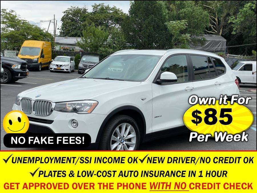 Used 2016 BMW X3 in Rosedale, New York | Sunrise Auto Sales. Rosedale, New York