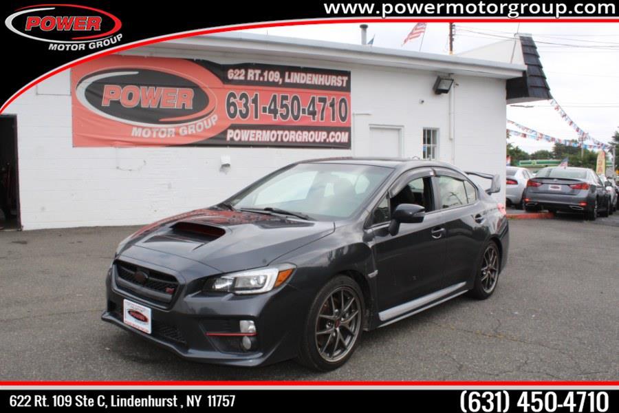 Used Subaru WRX STI 4dr Sdn Limited w/Wing Spoiler 2016 | Power Motor Group. Lindenhurst, New York
