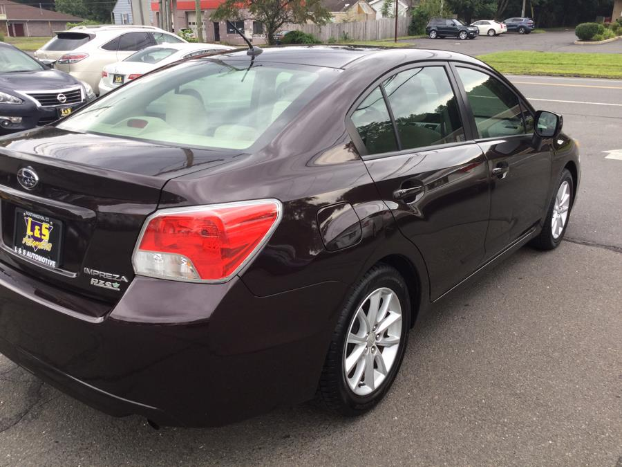 Used Subaru Impreza Sedan 4dr Auto 2.0i Premium 2012   L&S Automotive LLC. Plantsville, Connecticut