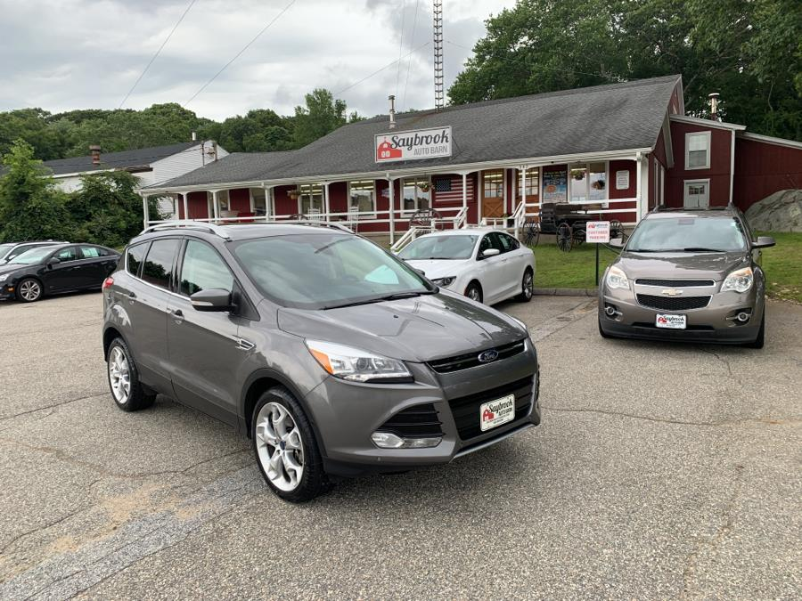 Used Ford Escape 4WD 4dr Titanium 2014 | Saybrook Auto Barn. Old Saybrook, Connecticut