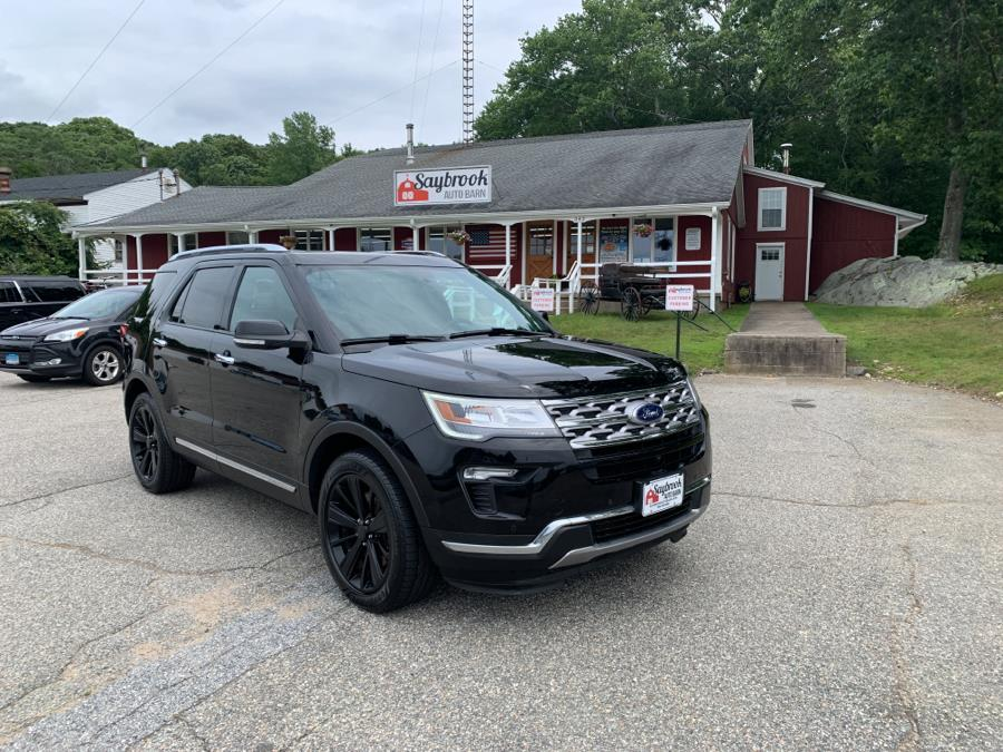 Used Ford Explorer Limited 4WD 2018 | Saybrook Auto Barn. Old Saybrook, Connecticut