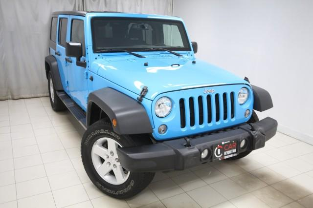 Used Jeep Wrangler Unlimited Sport 4WD 2017   Car Revolution. Maple Shade, New Jersey