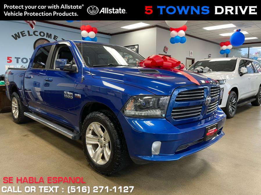 """Used Ram 1500 4WD Crew Cab 140.5"""" Sport 2015   5 Towns Drive. Inwood, New York"""