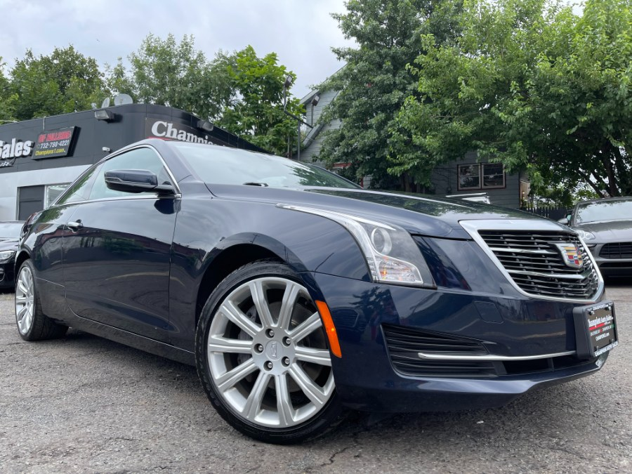 Used Cadillac ATS Coupe 2dr Cpe 2.0L Standard AWD 2016   Champion Auto Sales. Hillside, New Jersey