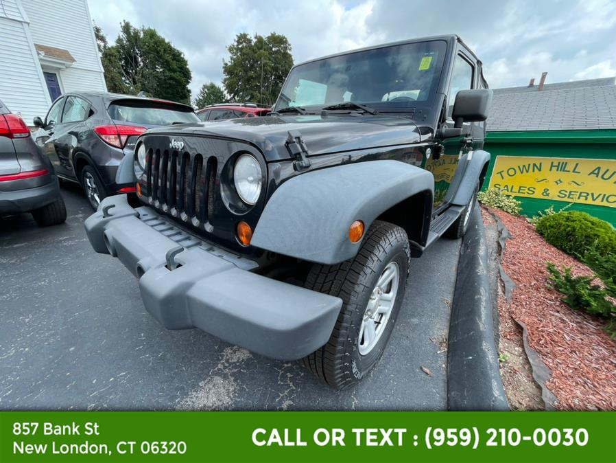 Used Jeep Wrangler 4WD 2dr Sport 2012   McAvoy Inc dba Town Hill Auto. New London, Connecticut