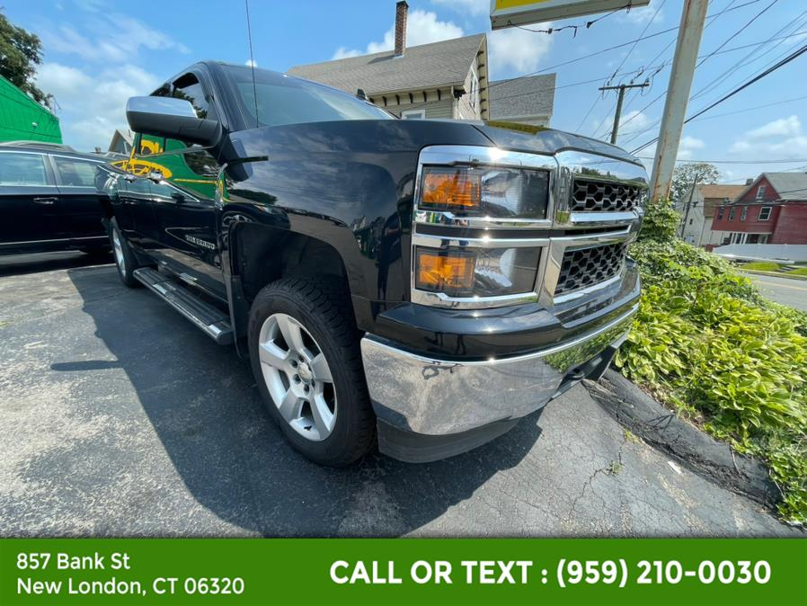 """Used Chevrolet Silverado 1500 4WD Double Cab 143.5"""" LS 2015   McAvoy Inc dba Town Hill Auto. New London, Connecticut"""