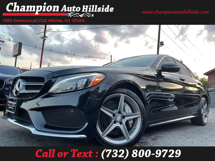 Used 2016 Mercedes-Benz C-Class in Hillside, New Jersey | Champion Auto Hillside. Hillside, New Jersey