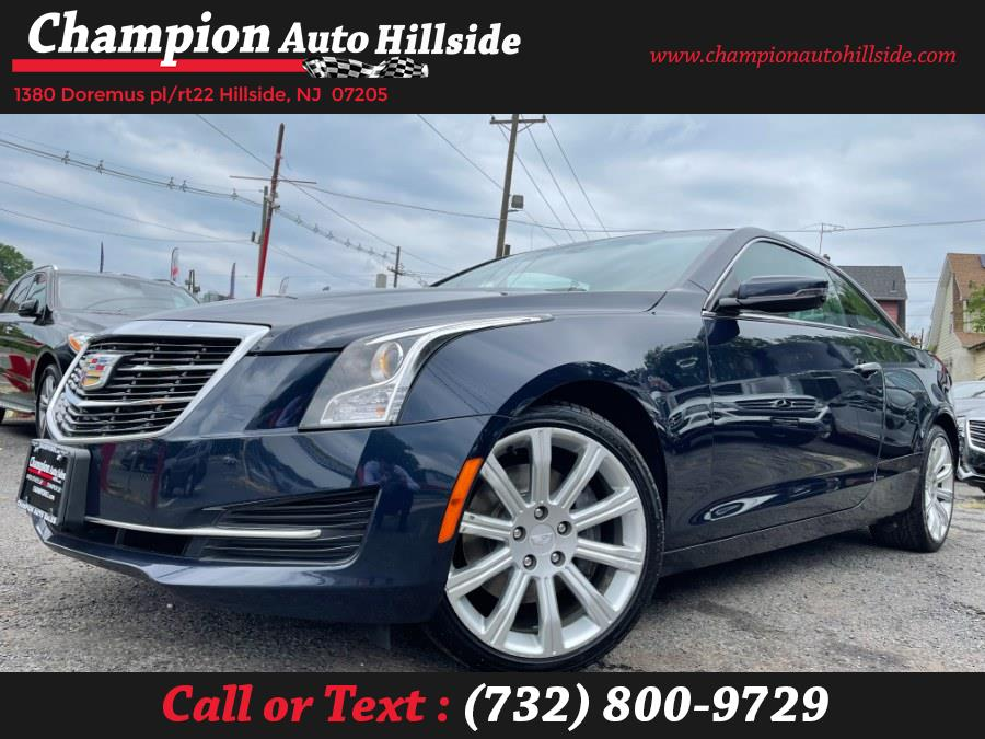 Used 2016 Cadillac ATS Coupe in Hillside, New Jersey | Champion Auto Hillside. Hillside, New Jersey