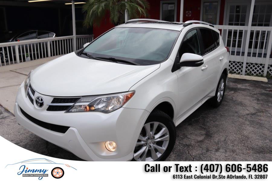 Used Toyota RAV4 FWD 4dr Limited (Natl) 2013 | Jimmy Motor Car Company Inc. Orlando, Florida