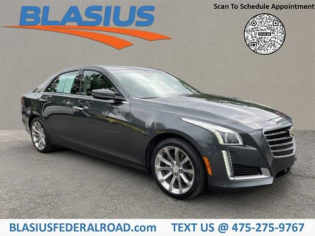 Used Cadillac Cts 2.0L Turbo Luxury 2017 | Blasius Federal Road. Brookfield, Connecticut