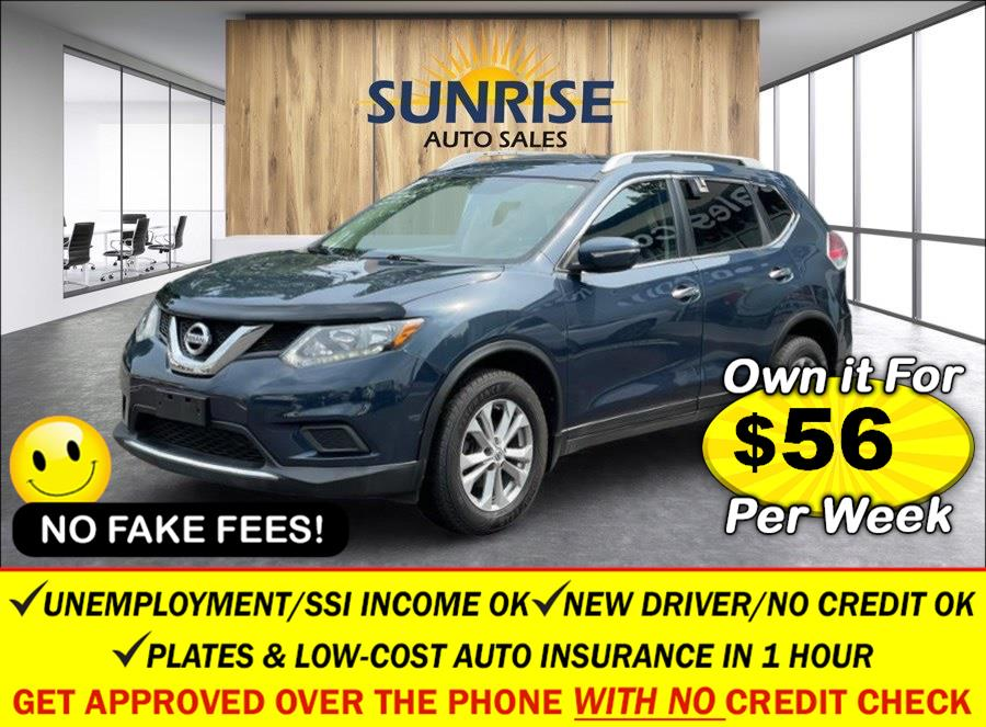 Used Nissan Rogue AWD 4dr SV 2015   Sunrise Auto Sales. Rosedale, New York