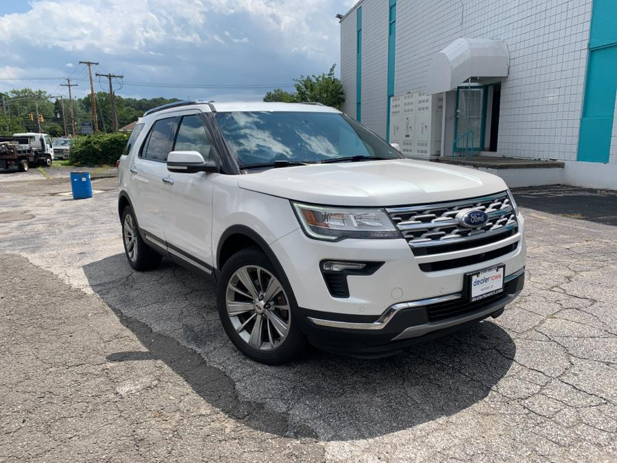 Used Ford Explorer Limited 4WD 2018 | Dealertown Auto Wholesalers. Milford, Connecticut