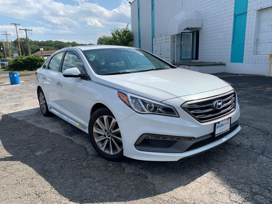Used Hyundai Sonata Limited 2.4L PZEV 2017 | Dealertown Auto Wholesalers. Milford, Connecticut
