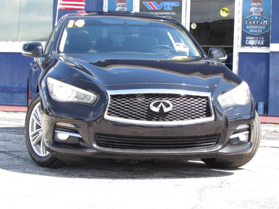 Used Infiniti Q50 4dr Sdn AWD Premium 2014 | VIP Auto Enterprise, Inc. Orlando, Florida