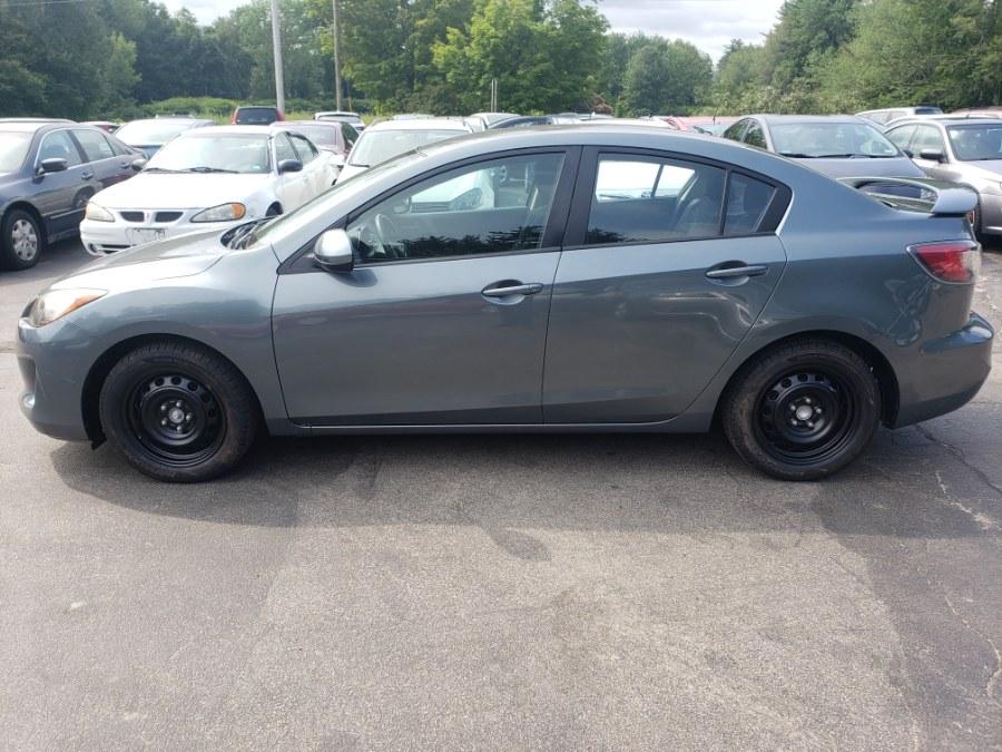 Used Mazda Mazda3 4dr Sdn Auto i Sport 2012   ODA Auto Precision LLC. Auburn, New Hampshire