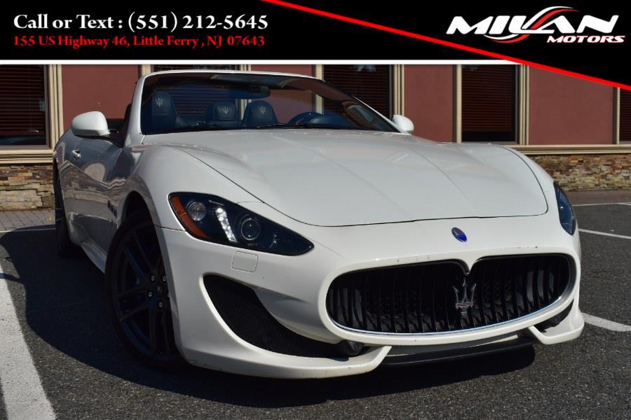 Used Maserati GranTurismo Convertible 2dr Conv GranTurismo Sport 2015 | Milan Motors. Little Ferry , New Jersey