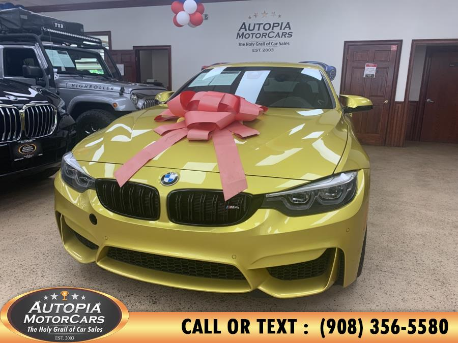 Used BMW M4 Convertible 2018 | Autopia Motorcars Inc. Union, New Jersey