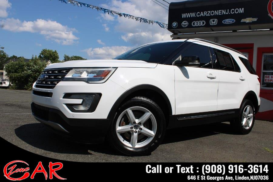 Used Ford Explorer XLT 4WD 2017   Car Zone. Linden, New Jersey