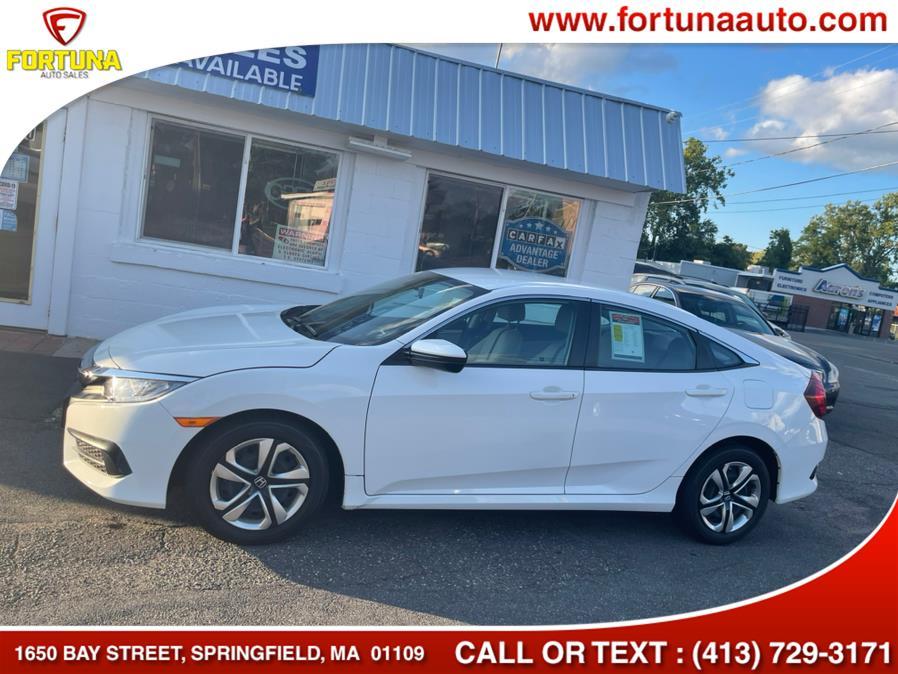 Used Honda Civic Sedan LX CVT 2018 | Fortuna Auto Sales Inc.. Springfield, Massachusetts