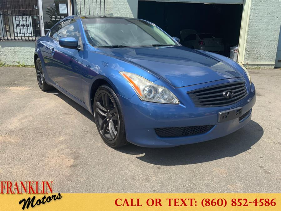 Used 2009 Infiniti G37 Coupe in Hartford, Connecticut | Franklin Motors Auto Sales LLC. Hartford, Connecticut