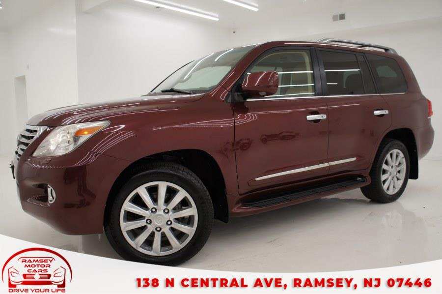 Used Lexus LX 570 4WD 4dr 2008 | Ramsey Motor Cars Inc. Ramsey, New Jersey