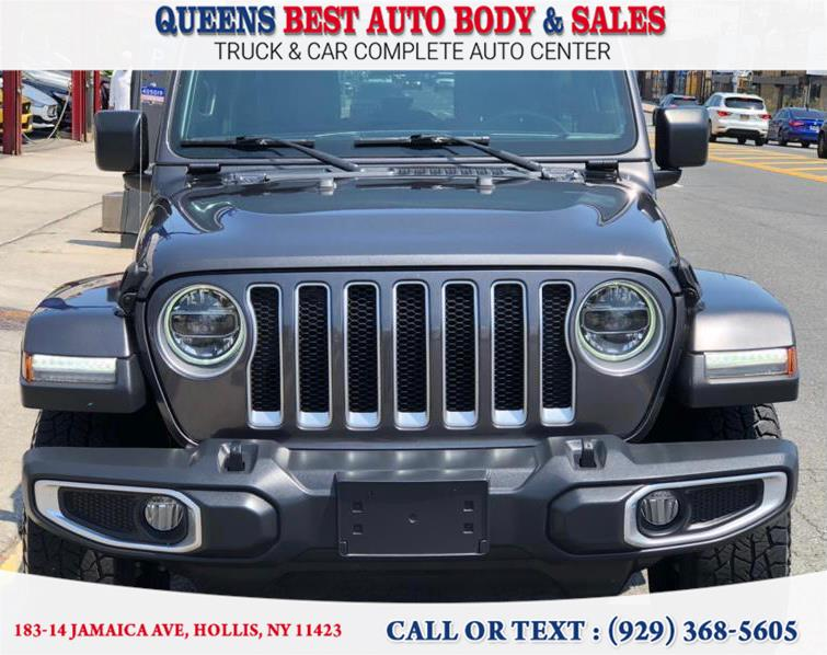 Used 2018 Jeep Wrangler Unlimited in Hollis, New York | Queens Best Auto Body / Sales. Hollis, New York