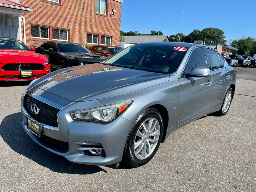 Used INFINITI Q50 4dr Sdn Premium AWD 2015 | Mike And Tony Auto Sales, Inc. South Windsor, Connecticut