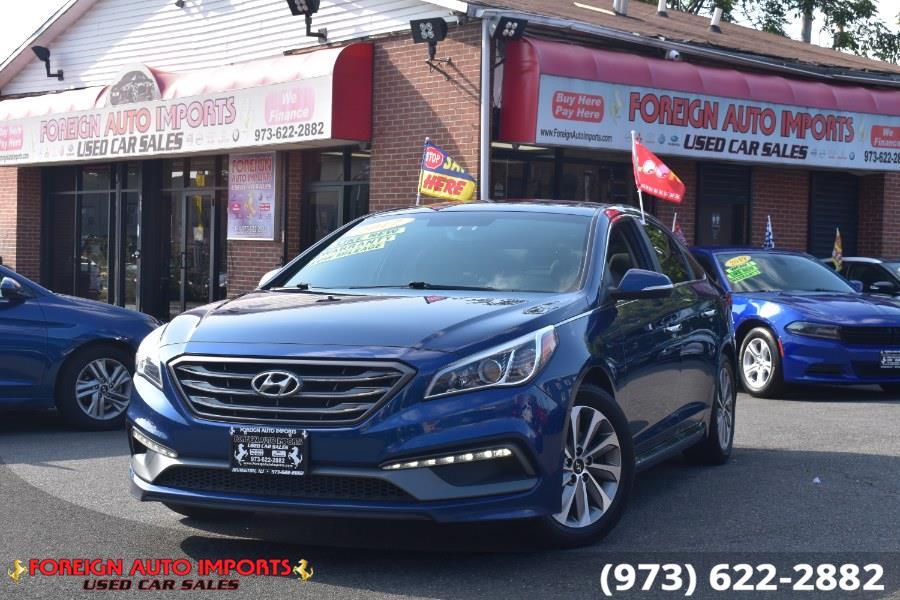 Used 2017 Hyundai Sonata in Irvington, New Jersey   Foreign Auto Imports. Irvington, New Jersey