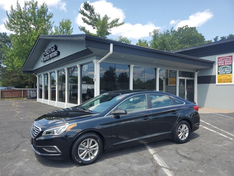 Used Hyundai Sonata 4dr Sdn 2.4L SE 2016   Prestige Pre-Owned Motors Inc. New Windsor, New York