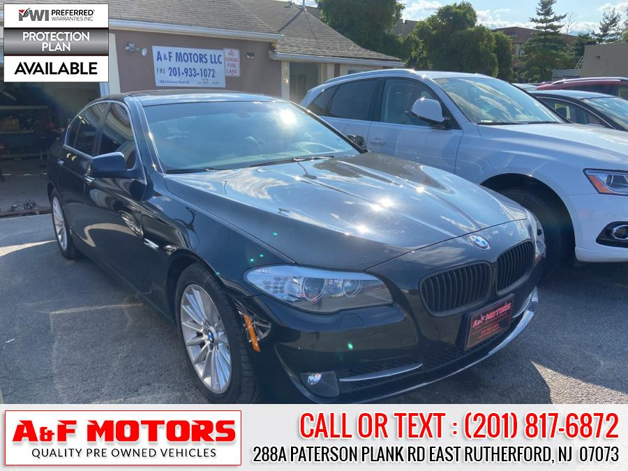Used 2013 BMW 5 Series in East Rutherford, New Jersey | A&F Motors LLC. East Rutherford, New Jersey