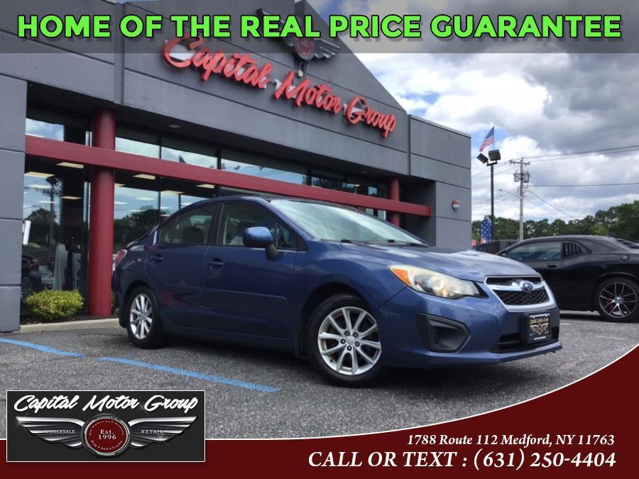 Used 2013 Subaru Impreza Sedan in Medford, New York | Capital Motor Group Inc. Medford, New York
