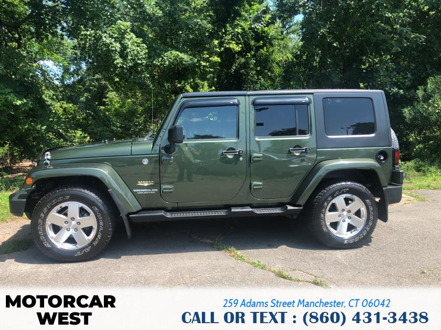 Used Jeep Wrangler 4WD 4dr Unlimited Sahara 2008 | Motorcar West. Manchester, Connecticut