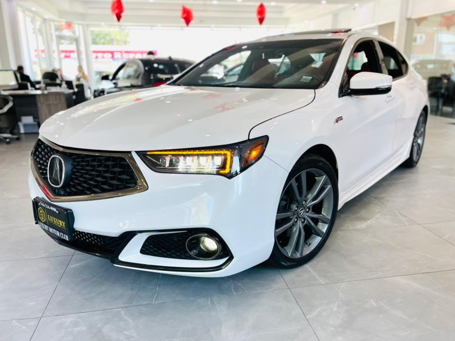 Used Acura TLX 3.5L SH-AWD w/A-Spec Pkg Red Leather 2019 | C Rich Cars. Franklin Square, New York