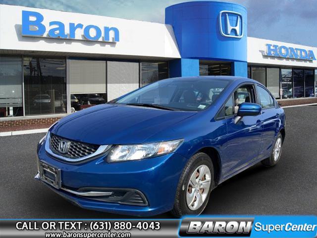 Used Honda Civic Sedan LX 2014 | Baron Supercenter. Patchogue, New York