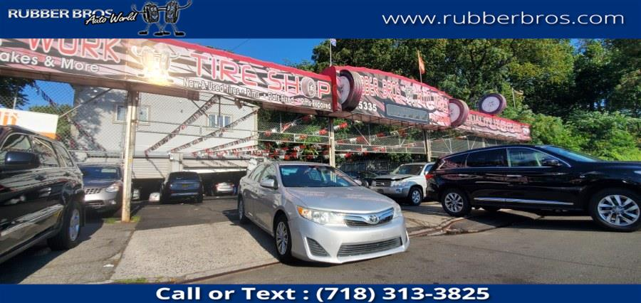 Used Toyota Camry 4dr Sdn I4 Auto L (Natl) 2012 | Rubber Bros Auto World. Brooklyn, New York