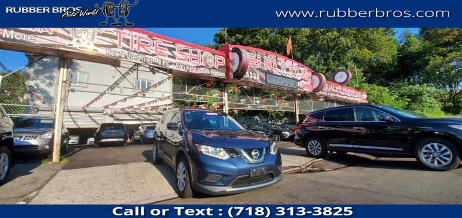 Used Nissan Rogue AWD 4dr S 2015 | Rubber Bros Auto World. Brooklyn, New York