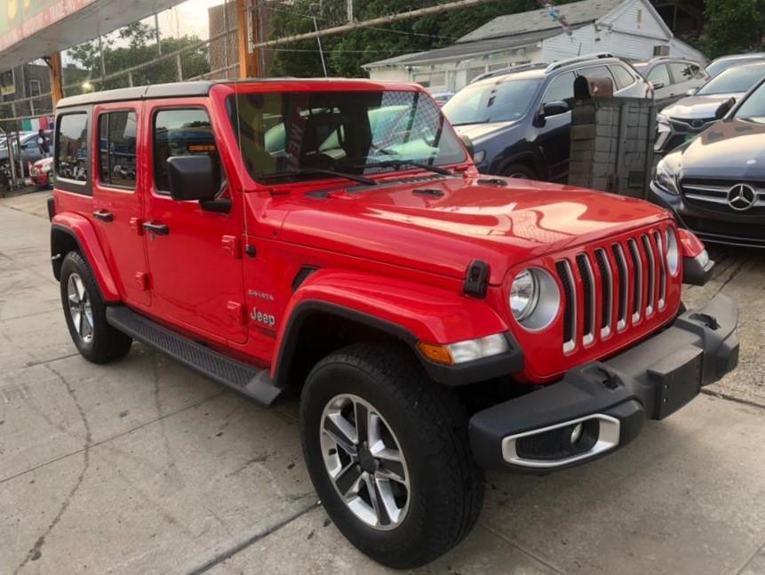 Used 2018 Jeep Wrangler Unlimited in Jamaica, New York | Sylhet Motors Inc.. Jamaica, New York