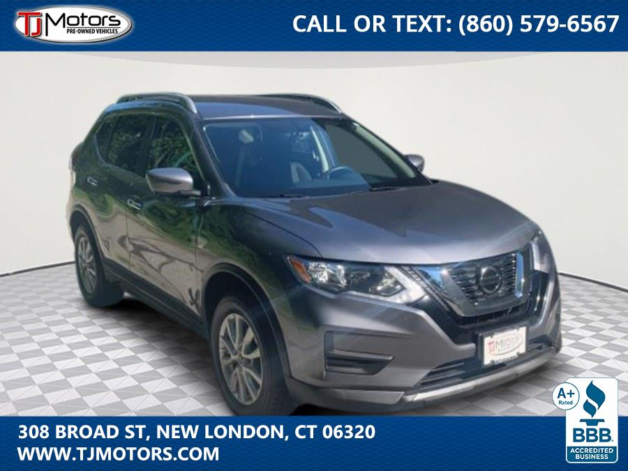 2018 Nissan Rogue AWD SV, available for sale in New London, CT