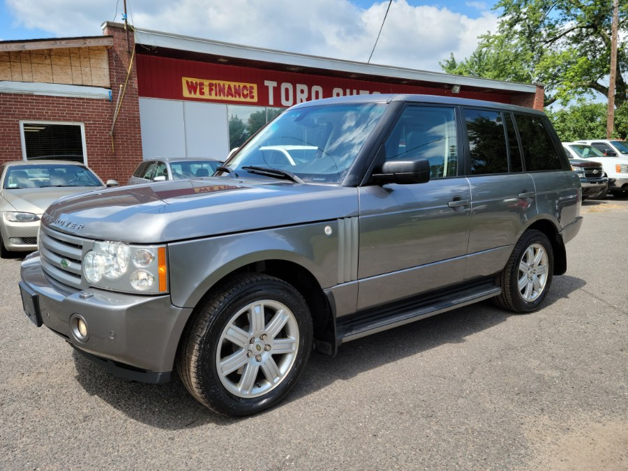 Used Land Rover Range Rover 4WD 4dr HSE Super Clean Loaded 2007   Toro Auto. East Windsor, Connecticut