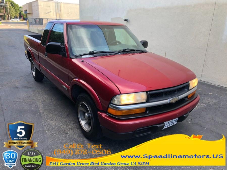 Used 2002 Chevrolet S-10 in Garden Grove, California | Speedline Motors. Garden Grove, California