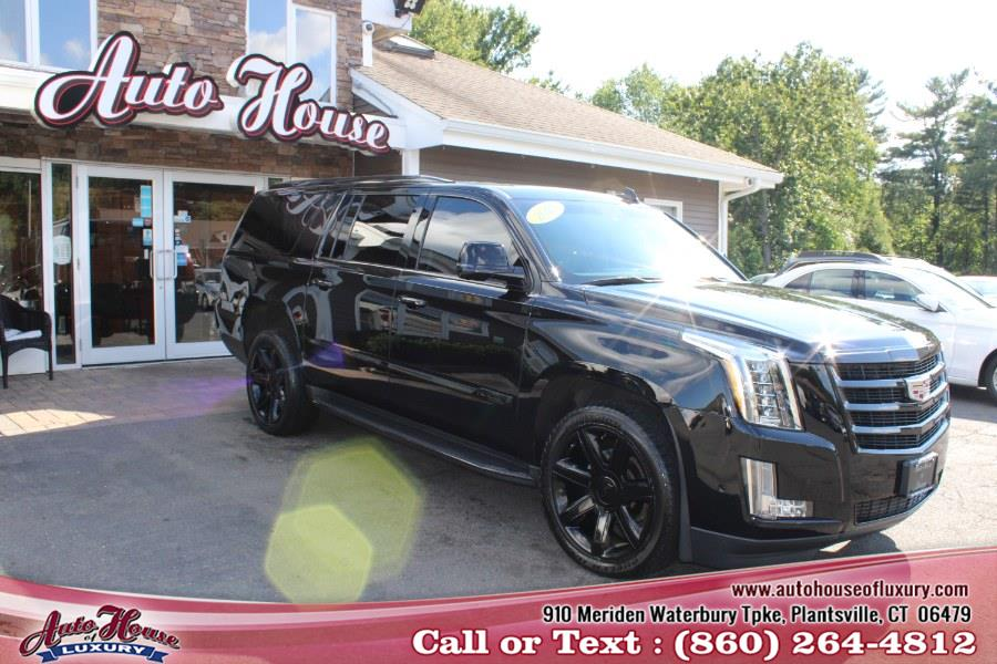 Used Cadillac Escalade ESV 4WD 4dr Luxury 2018 | Auto House of Luxury. Plantsville, Connecticut