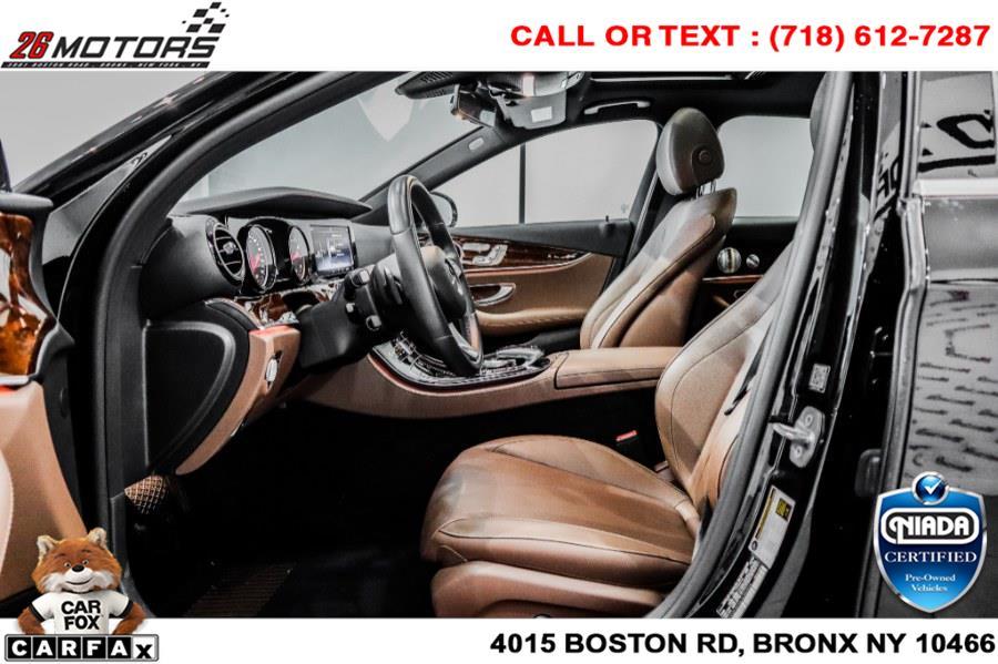 Used Mercedes-Benz E-Class E 300 4MATIC Sedan 2018   26 Motors Corp. Bronx, New York
