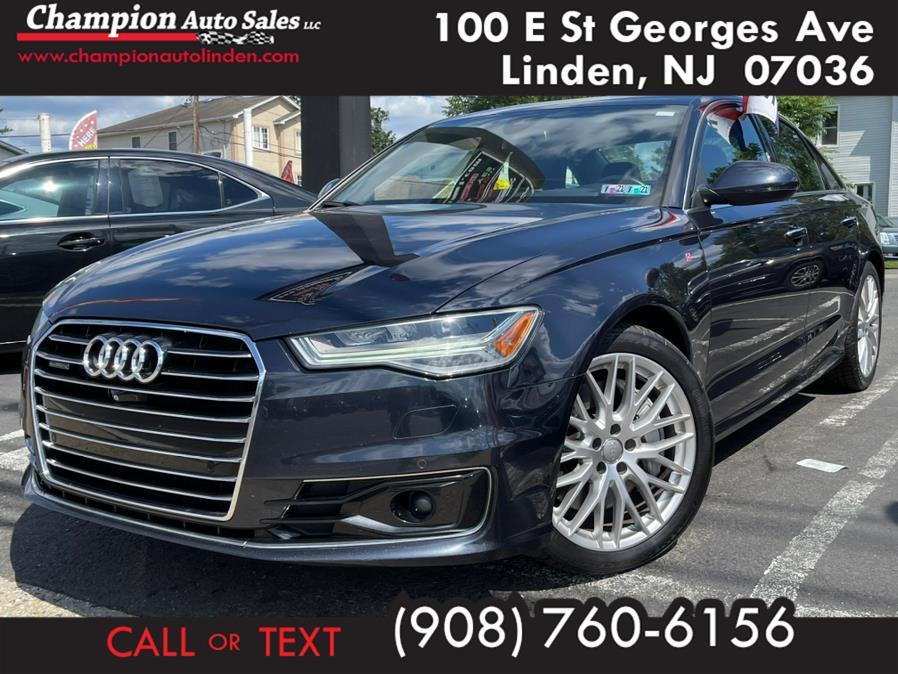 Used 2016 Audi A6 in Linden, New Jersey | Champion Used Auto Sales. Linden, New Jersey