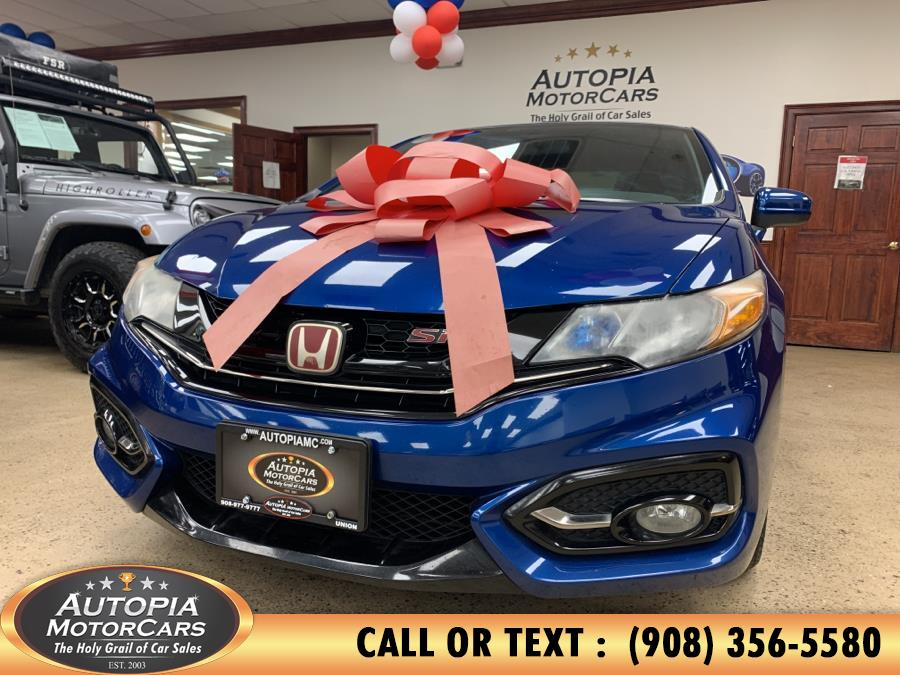 Used 2015 Honda Civic Si Coupe in Union, New Jersey | Autopia Motorcars Inc. Union, New Jersey