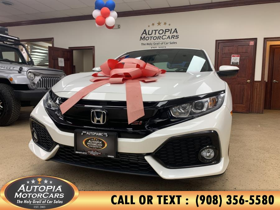 Used Honda Civic Si Coupe Manual w/High Performance Tires 2018 | Autopia Motorcars Inc. Union, New Jersey