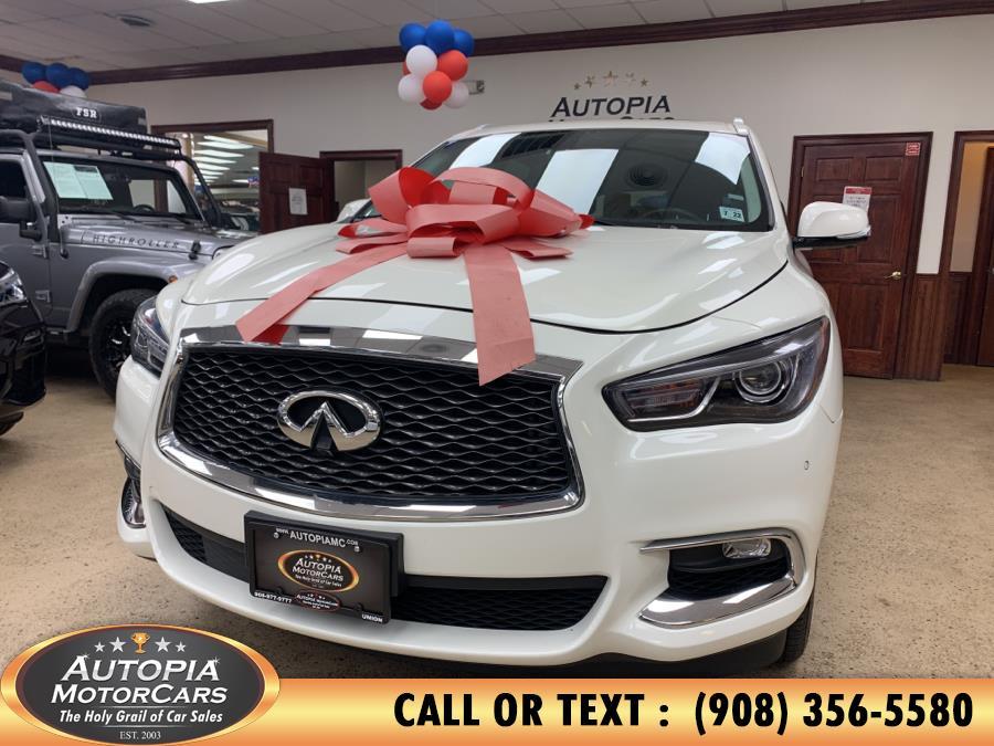 Used 2017 INFINITI QX60 in Union, New Jersey | Autopia Motorcars Inc. Union, New Jersey