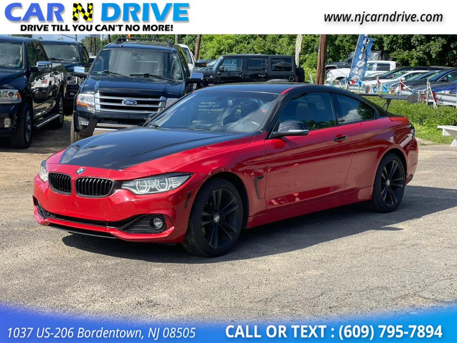 Used BMW 4-series 428i xDrive SULEV Coupe 2015 | Car N Drive. Bordentown, New Jersey